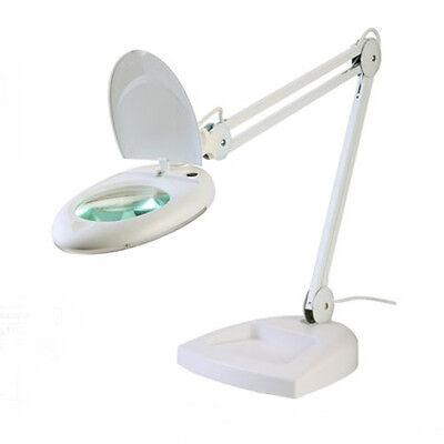 LAMPADA LABORATORIO ESTETISTA ZD-140 DA TAVOLO CON BASE 5 DIOTTRIE + 80 LED