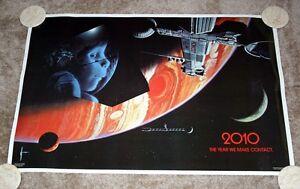 2010 Jahr wir Kontakt Film Poster Promo 1983 Roy Scheider Arthur C. Clarke