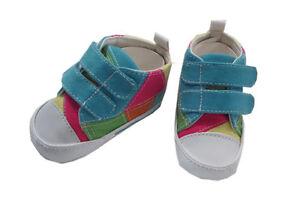 MaxiMo-Babyschuhe-Stoffschuhe-Turnschuhe-Mehrfarbig-Gr-17-NEU