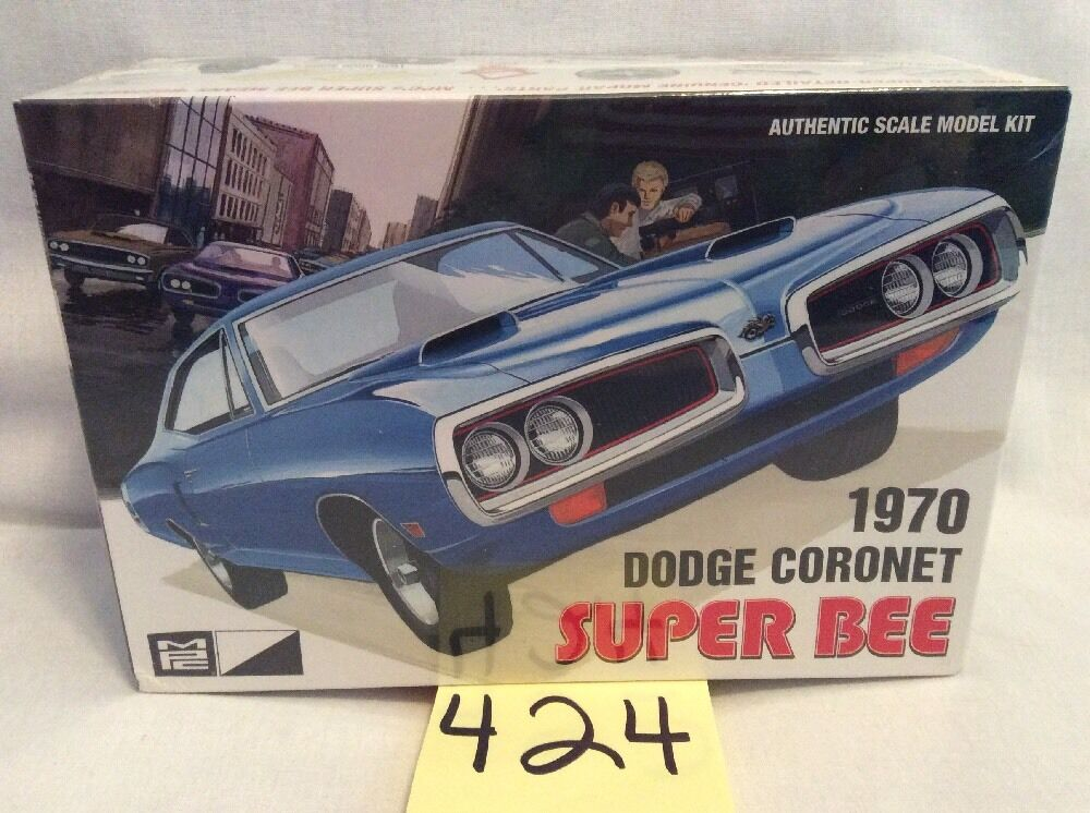 MPC 1970 DODGE SUPER BEE Authentic Model Car Kit 703 New & Sealed