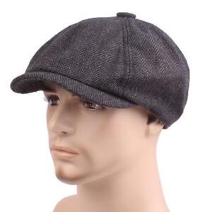 cff5871c4d54e New Tweed Gatsby Cap Hat Mens Ladies Flat Country 8 Panel Baker Boy ...