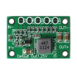 DC-Step-Down-Power-Converter-Board-5-16V-To-1-25V-1-5V-1-8V-2-5V-3-3V-5V-3A