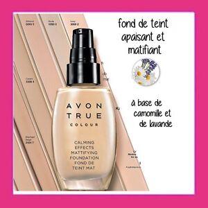 FOND-DE-TEINT-APAISANT-et-MATIFIANT-Avon-Calming-Effects-couvrance-moyenne