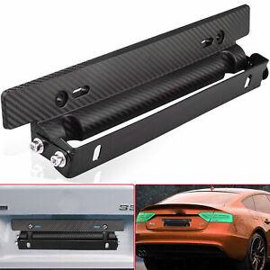 Universal-Einstellbare-Kohlefaser-Car-Racing-Kennzeichenhalter-Halterung