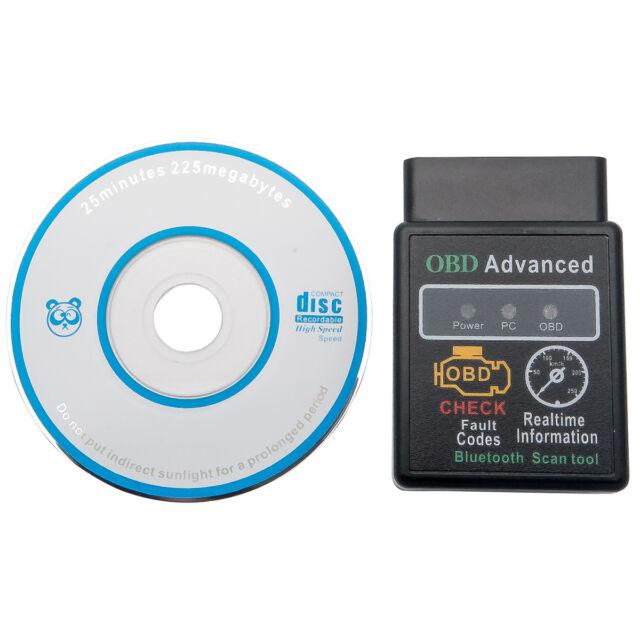 ELM327 OBD2 Bluetooth Voiture OBDII interface diagnostique Bluetooth Diag Scan