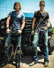 Florida Georgia Line signed country 8X10 photo picture poster autograph RP