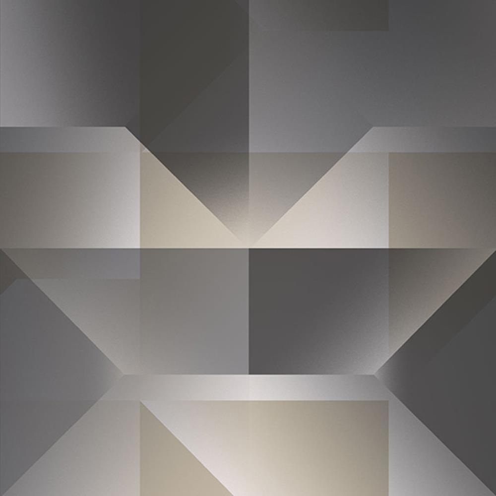 SE20563 - City Life Geometrisch Schwarz Beige Grau Galerie Tapete