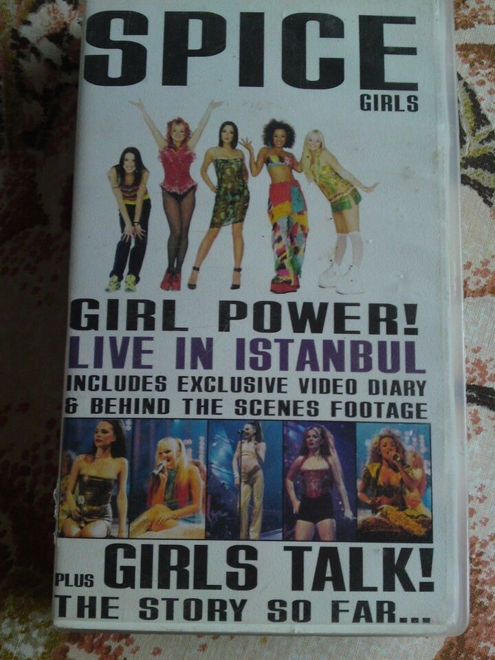 Musikfilm, Spice girls - live in istanbul