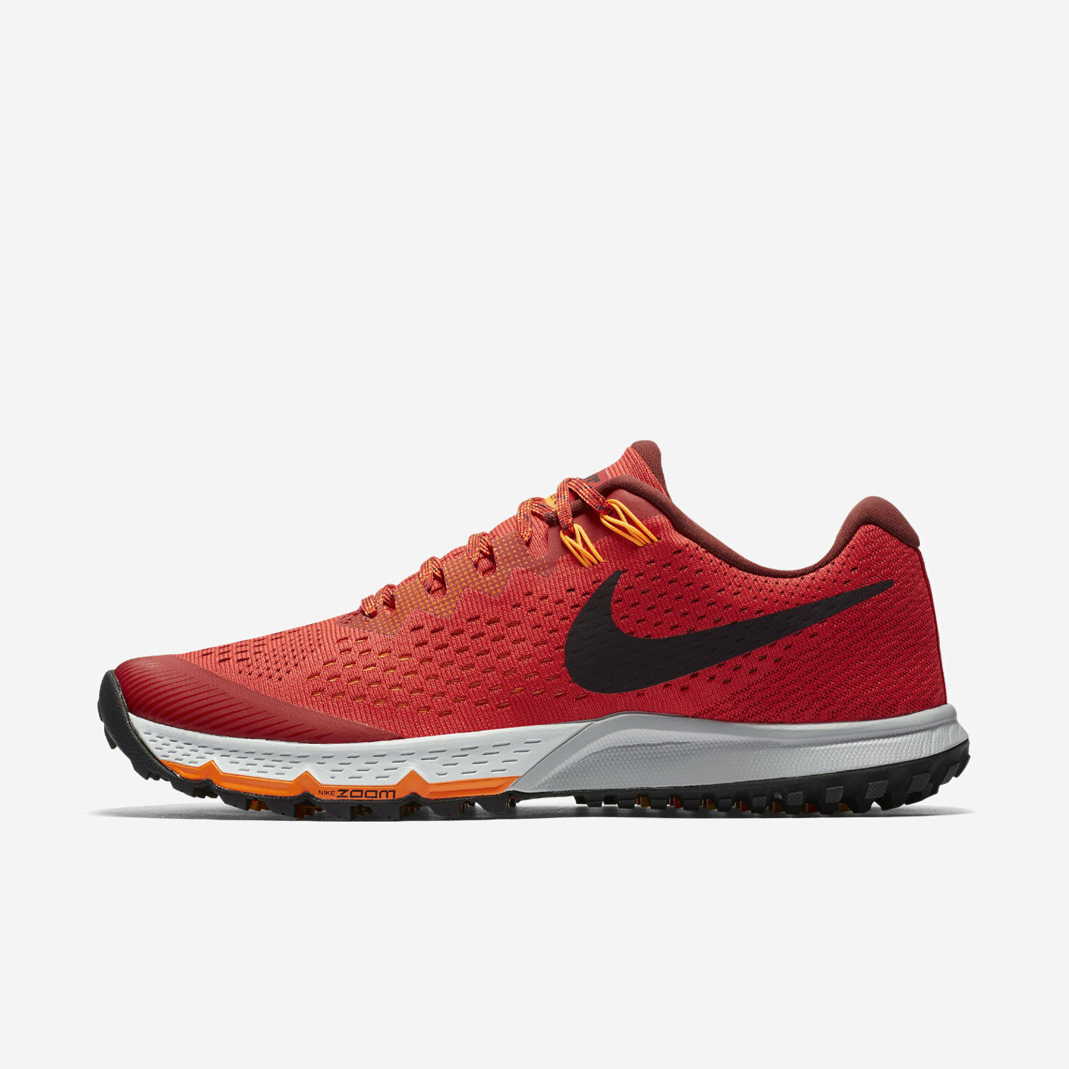 Mns Nike Air Zoom Kiger 4 Sz 10 13 Red 880563 600 FREE