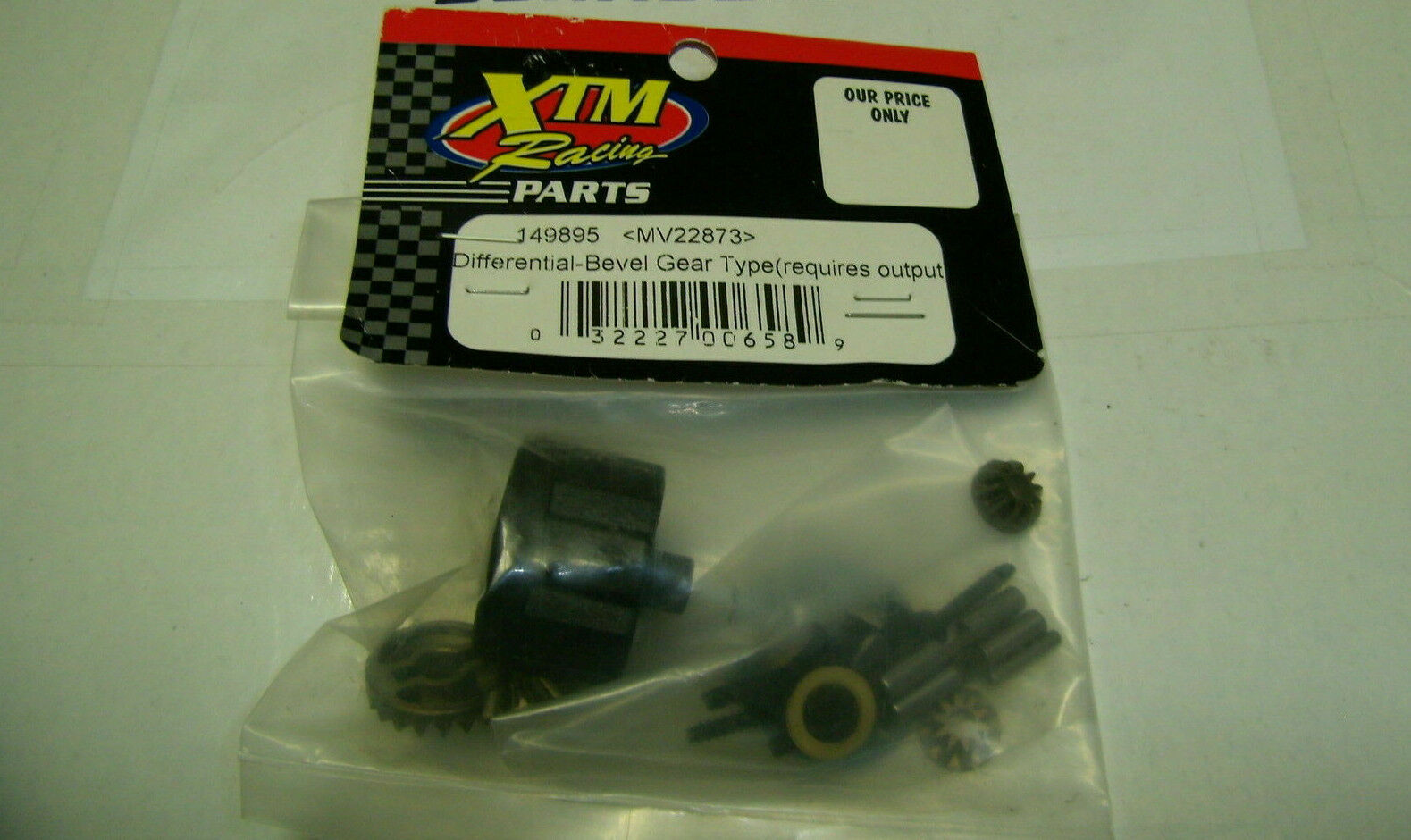 149895XTM Racing Vintage Differential Bevel type Require Output Joints