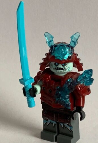 ICE SAMURAI minifigure LEGO THE NINJAGO BRAND NEW from set 70671