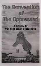 The Convention of the Oppressed - Minister Louis Farrakhan Self Paperback Book