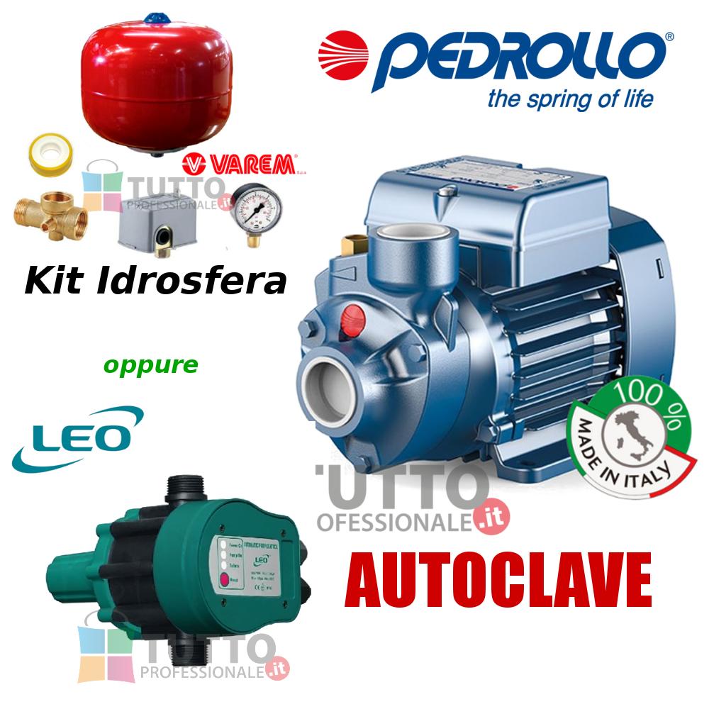 Kit pompa autoclave pkm 60 presscontrol idrosfera tipo square d pozzo cisterna
