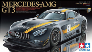 [New] Mercedes AMG GT3 - 1 24 Plastic Model Kit by Tamiya 24345