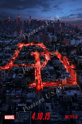 Posters USA Marvel Daredevil TV Show Series Poster Glossy Finish TVS780