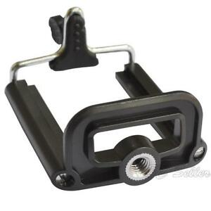 Clip-Bracket-Monopod-Tripod-Stand-Mount-Holder-Adapter-For-Camera-Cell-Phone-UIN