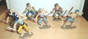 BRITIANS-6-Pirates-Buccaneers-1-32-54MM-Toy-Soldiers-PLASTIC-C
