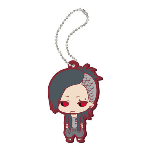 Bandai Tokyo Ghoul Capsule Rubber Strap Pucchi Keychain Key chain Swing Figure
