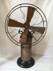 Antique Kerosene oil Operated steam Fan Working Collectables Museum Vintage Gift