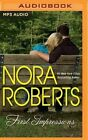 First Impressions by Nora Roberts (CD-Audio, 2016)
