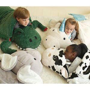 Image Is Loading Kids Animal Adventure Sleeping Bag New Dinosaur Cow
