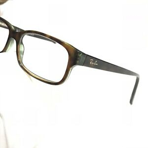 00a5834f04 Authentic Ray Ban RB5187 2445 Women s Tortoise Rx Eyeglass Frames 52 ...