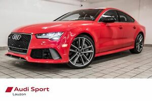 2017 Audi RS7 PERFORMANCE AKROPOVIC EXHAUST 605HP