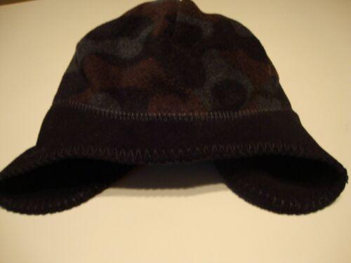 Boy/'s Fleece Hat by Falls Creek One Size Black Camouflage