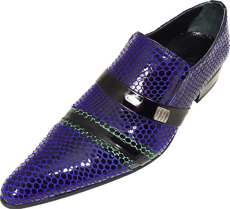 Original Chelsy - Italienischer Designer Slipper Netzmuster schwarz blau grün    | Billig ideal