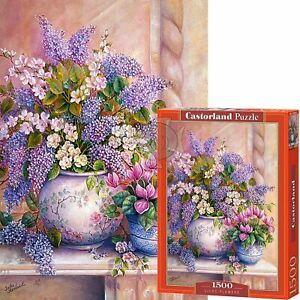 Castorland 1500 Piece Jigsaw Puzzle Lilac Flowers