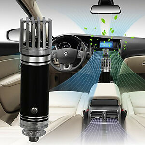 mini auto car home fresh air ionic purifier oxygen bar ozone ionizer cleaner 12v. Black Bedroom Furniture Sets. Home Design Ideas