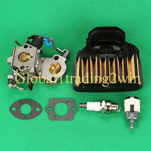 carburetor air fuel filter tune up kit jonsered cs2255 ... echo chainsaw fuel filter