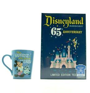 Funko-Disneyland-Resort-65th-Anniversary-Limited-Edition-Mug-amp-T-Shirt-SZ-Medium