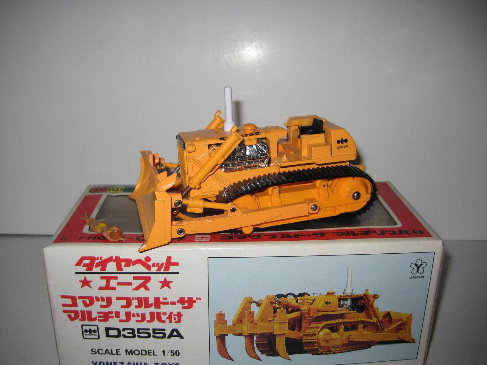 Komatsu d 355 a bulldozer sin Ripper Orange Diapet 1 50 OVP