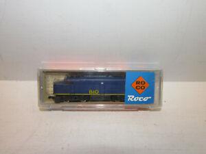 Roco-3159-B-amerikanische-Diesellokomotive-B-amp-O-4038-Spur-N-OVP