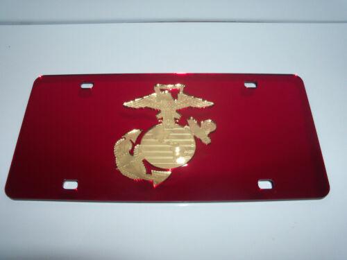 Military United States Marine Corps Laser Cut License Plate New! USMC