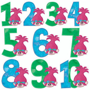Troll poppy numbers machine applique embroidery patterns 10x 4 image is loading troll poppy numbers machine applique embroidery patterns 10x dt1010fo