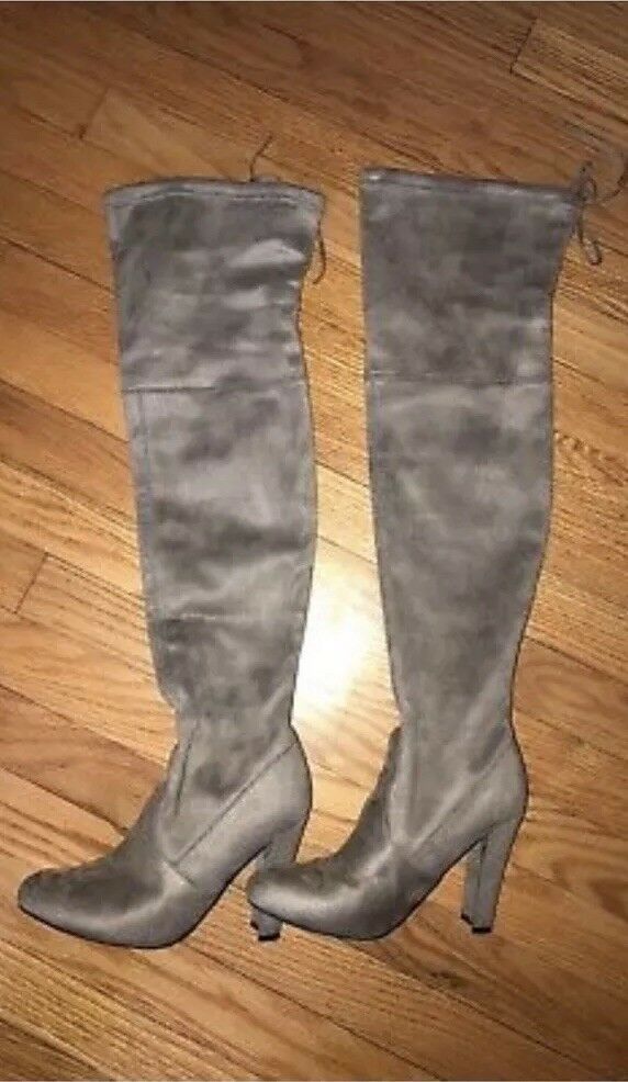 STEVE MADDEN Gorgeous Women's Size 7 Over Over Over The Knee Boots shoes 635f29