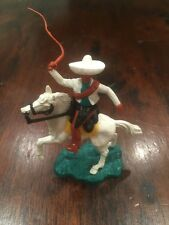 Timpo Mexican Mounted - White/ Green Variation - Wild West - 1970's