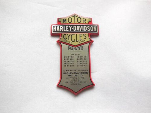 Harley Davidson Emblème Medallion universellement Nostalgie Batterie je sais Bar 66041