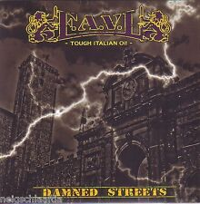 F.A.V.L. - DAMNED STREETS EP punk oi!