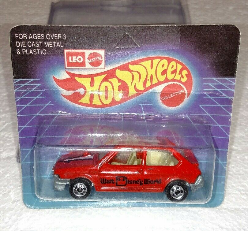 HOT WHEELS MATTEL LEO INDIA FIAT RITMO rot UNPUNCHED BRAND NEW