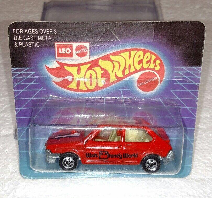 Hot wheels mattel fiat ritmo rot unpunched leo indien neu