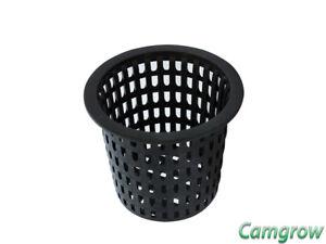 10 x Plastic Net Mesh Pot Hydroponics & Aeroponics Aquarium 140mm Garden & Patio