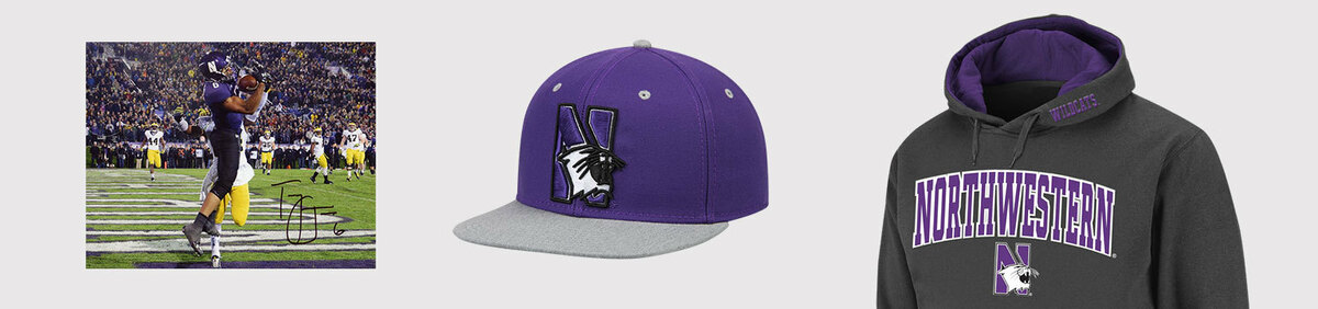 Shop Event Northwestern Wildcats Authentic fan apparel & collectibles