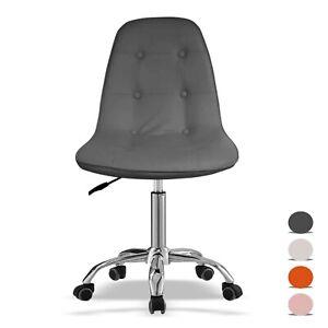 Silla-De-Oficina-Acolchada-Pequena-Ajustable-escritorio-silla-silla-giratoria-Casa