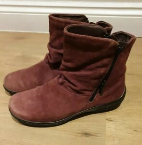 Hotter Whisper Suede Ankle Boots Size 6