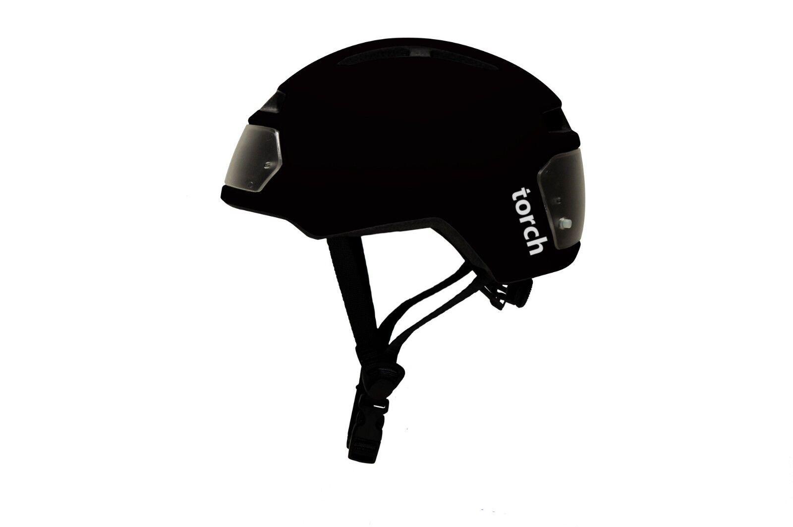 Torch bicicleta casco-Color  negro-tamaño  54 - 61 cm