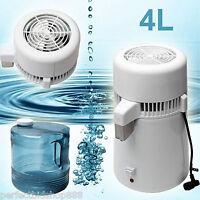 4l Safety Stainless Steel Internal Pure Water Distiller Filter Distilled Healthy