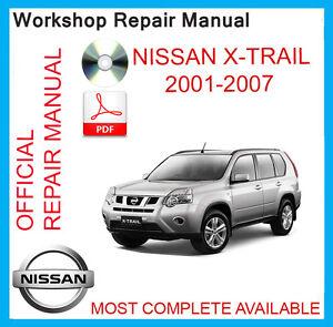 Nissan X Trail T30 руководство